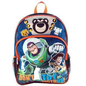 Toy Story 3 Buzz Woody Lotso Large Backpack Bag Tote NEW