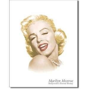 Marilyn Monroe Hollywoods Eternal Beauty Headshot Retro Vintage Movie