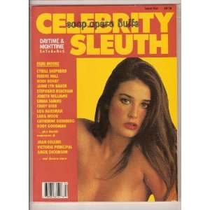 Celebrity Sleuth Soap Opera Buffs Volume 4 1987 Celebs & Demi Moore