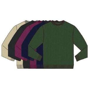 Greg Norman Fashion Drop Needle Crewneck Golf Sweater