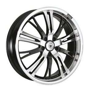 14x6 Konig Unknown (Black / Machined) Wheels/Rims 4x100