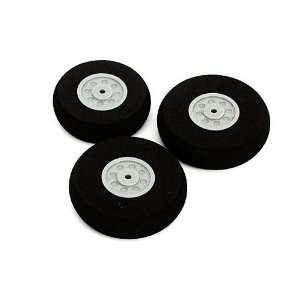 Wheel Set:Cessna 150 Aerobat 250 (2) 40mm,(1) 35mm: Toys