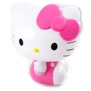 3d statuette lamp Hello Kitty pink white.