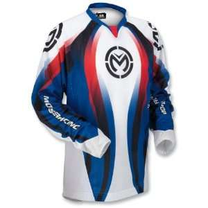 Moose Sahara Jersey , Color Red/White/Blue, Size XL 2910