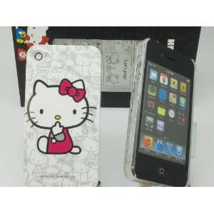 Hello Kitty Hard Back Case Cover for Apple iPhone 4 4G 4S