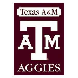 Texas A&M Aggies TAMU NCAA Double Sided 28 X 40 Banner