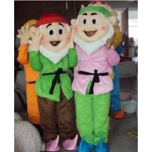 Seven Dwarfs cartoon Character Costume(Two pieces) Health