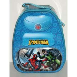 The Amazing Spiderman Blue Backpack Shaped Tin Lunch Box