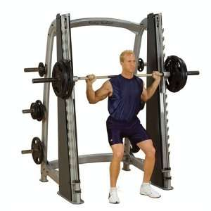 Solid Pro Clubline Counter Balanced Smith Machine