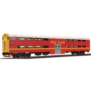 HO Pullman Bi Level Cab Coach, RI #CC116: Toys & Games