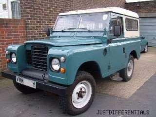 48 85 Land Rover Series I II III Detroit Soft Locker