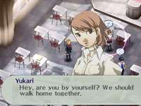 Social Link dialog screen from Shin Megami Tensei Persona 3 Portable