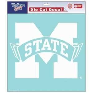 Mississippi State Bulldogs 8 X 8 Die Cut Decal  Sports