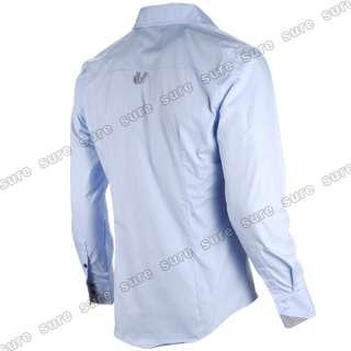 Designer Slim fit Pocket Tailored Casual Point Neck Collar Basic Shirt