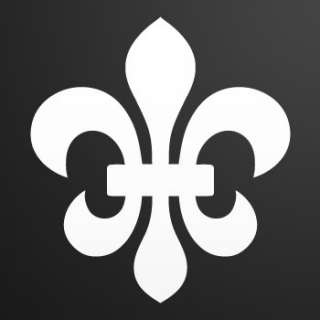 Vinyl Decal Sticker Fleur De lis flower lily ZK6ZK