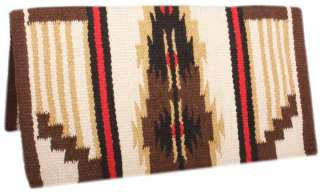 Brown Red Sand Premium New Zealand Wool Show Horse Saddle Blanket