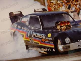 82 DRAG RACE FUNNY CAR PHOTO Datsun 280ZX John Collins