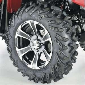 14 Terracross R/T, Matte Black/Machined SS312, Tire/Wheel Kit 44300