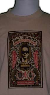 the CLASH custom T SHIRT retro rock and roll punk joe strummer new OG