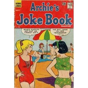 Archies Joke Book No. 92 Comic Book Books