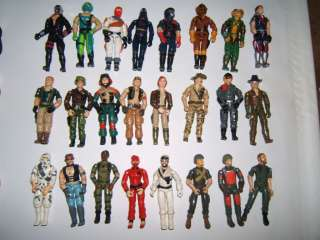 Huge Lot of GI JOE Action Figures Accessories RARE Collectible G.I