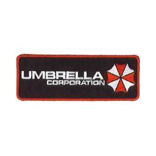 Resident Evil Rectangle Size Umbrella Corporation Logo Patch: Clothing