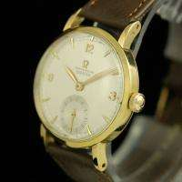 VINTAGE OMEGA 30T2 RG CHRONOMETER 18K SOLID YELLOW GOLD MENS WATCH