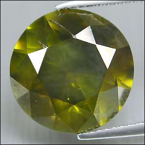 Huge 3.05 CTS UNTREATED Attractive Fancy Olive Green Natural Loose