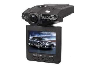 TFT LCD Screen HD Portable Car DVR 6 IR LED Audio Camera Vedio