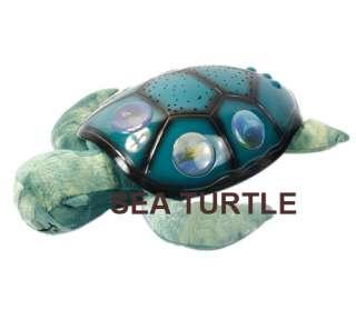 Star Constellation Ladybug / Turtle / Sea Turtle Night Light Baby Lamp
