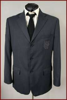 INSERCH MENS DARK BLUE FASHION BLAZER SPORT COAT LARGE (42) MINT
