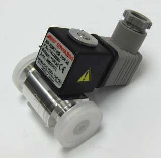 Edwards KF 10 NW10 vacuum chamber venting valve solenoid IPVA10EK