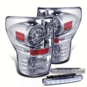 Eautolight 07 11 Toyota Tundra LED Tail Lights + LED Bumper Fog Lamp