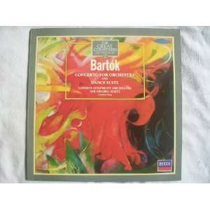411 023 Bartok Concerto for Orchestra / Dance Suite LSO