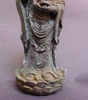 Old Tibet Tibetan Bronze Kwan yin Quan yin Statue