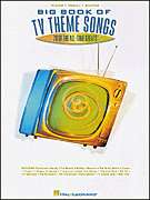 Big Book TV Theme Songs   Piano Guitar Sheet Music Book