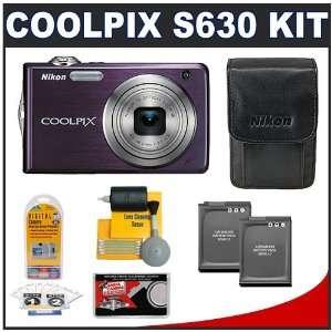 7x Optical Zoom + (2) EN EL12 Battery Packs + Leather Case + Accessory