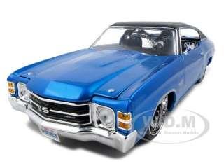 1971 CHEVROLET CHEVELLE SS 454 BLUE 1:18 CUSTOM