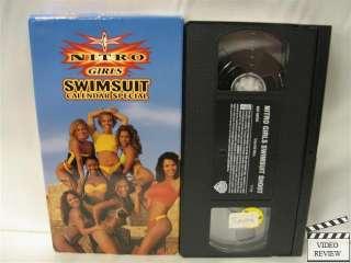 WCW Nitro Girls Swimsuit Calendar Special VHS 1999