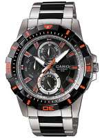 CASIO MTD1071D 1A2 MENS ANALOG STAINLESS STEEL MULTI HANDS 100M DIVER