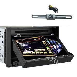 2Din 7 LCD Turbo List GPS Stereo Car DVD Player Radio iPod TV