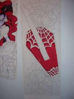 Hand Painted Wallpaper Decor Sticker Monster High Doll Operetta
