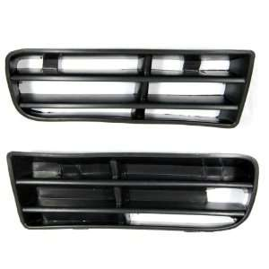 Pair Front Lower Air Grille for 1999 2005 Volkswagen Golf