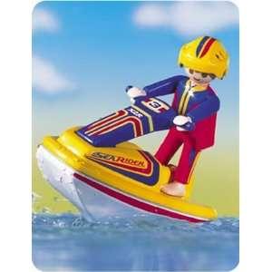 Swimming pool wet jet ski pool float lounger raft toy - Playmobil swimming pool best price ...