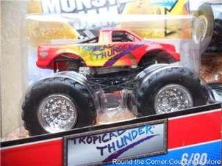 2011 Hot Wheels Monster Jam #6 Tropical Thunder Truck Variation