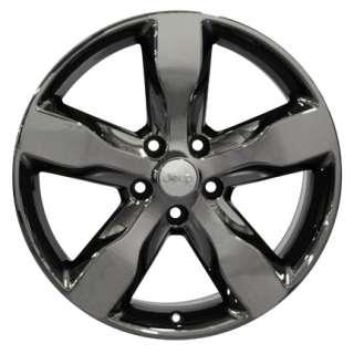 20 Rim OEM Jeep Grand Cherokee Wheel Black Chrome 20x8