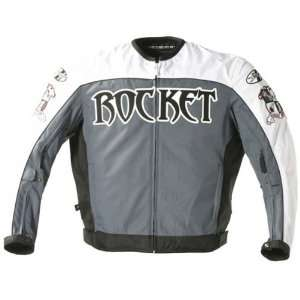 JOE ROCKET BIG BANG TEXTILE JACKET WHITE/GUNMETAL/BLACK XL