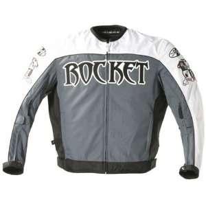 JOE ROCKET BIG BANG TEXTILE JACKET WHITE/GUNMETAL/BLACK XL