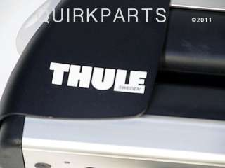 2011 Jeep Grand Cherokee Thule Universal Rooftop Mount Ski & Snowboard