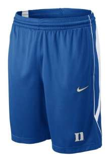 DUKE BLUE DEVILS NCAA NIKE 2011 PRE GAME SHORTS NEW LG